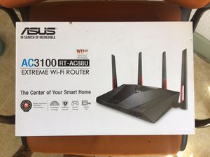 Asus Router AC3100 FAST for Sale in Long Beach, CA