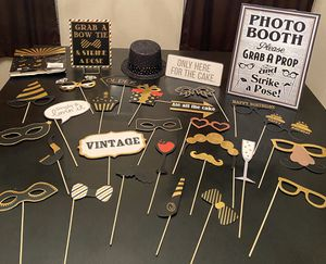30+ BIRTHDAY PHOTO BOOTH PROPS for Sale in Tyler, TX