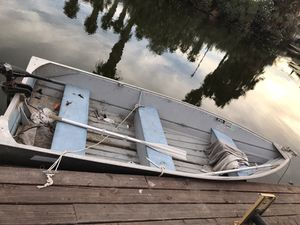 8ft aluminum boat no trailer for Sale in Discovery Bay, CA