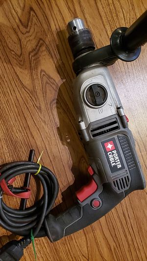 PORTER CABLE (7AMP) HAMMER DRILL for Sale in St. Louis, MO