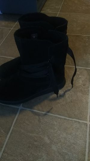 Hardly worn Black Sensorflex Timberland boots for Sale in Fort Worth, TX