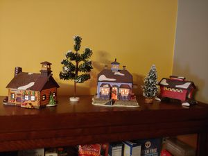 Dept 56 Christmas New England Series 1980s for Sale in Gray, ME