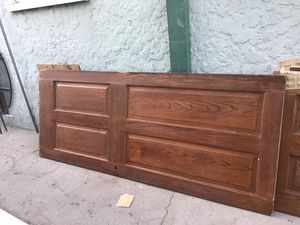 Hard Oak wood door 32 by 79 1/2 for Sale in Huntington Park, CA