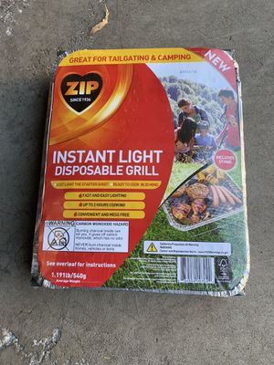 Disposable BBQ grill for Sale in Lakewood, CO