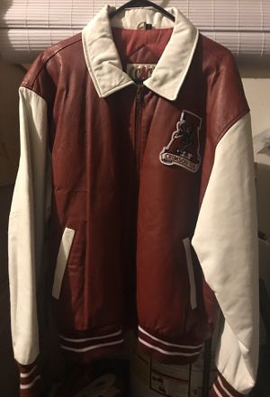 """TODAY ONLY ... Vintage Alabama """"Crimson Tide"""" Letterman Jacket ... 100% Leather ... Size XL ... for Sale in Murfreesboro, TN"""