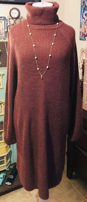 Maroon turtleneck sweater dress for Sale in Phoenix, AZ