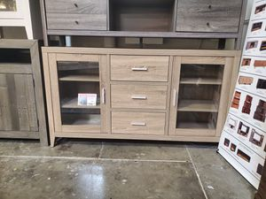 NEW, Emily TV Stand for TVs up to 70in, Dark Taupe. SKU#171919 for Sale in Westminster, CA