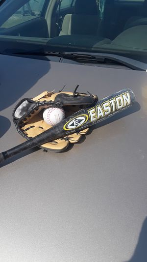 Bat and glove for Sale in High Point, NC