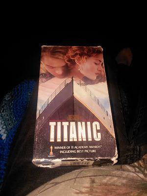 Titanic, two VHS set , play well for Sale in Shellsburg, IA