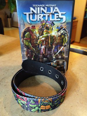Ninja Turtles dvd Movie w-belt for Sale in Everett, WA