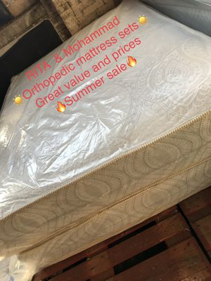orthipedic mattress for Sale in Midlothian, IL