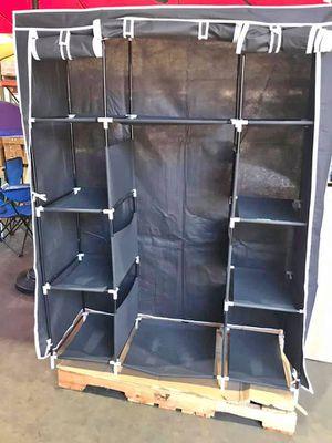 """50x66"""" Black Portable Closet 👕BRAND NEW ‼️ for Sale in Chino, CA"""