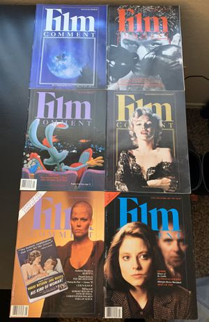 Vintage Film Comment Magazines (Raging Bull, E.T., Roger Rabbit, Marilyn Monroe) for Sale in Gilbert, AZ