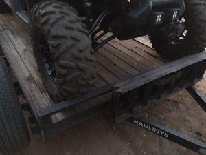 12' flatbed trailer/new tires/new jack/new wiring lighting kit for Sale in Glendale, AZ