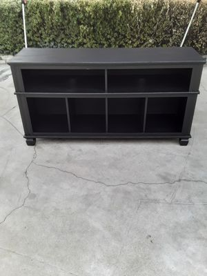 Nice Black TV Stand. for Sale in Fresno, CA