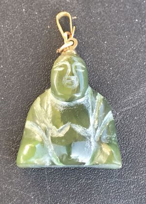 "1"" x 1"" hand carved jewelry pendant for Sale in Ponte Vedra Beach, FL"