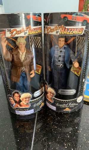 Dukes of hazzard limited edition collectors action figures for Sale in Columbus, OH