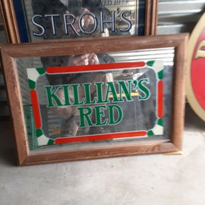 80s Killans Beer Glass Sign for Sale in Paradise Valley, AZ