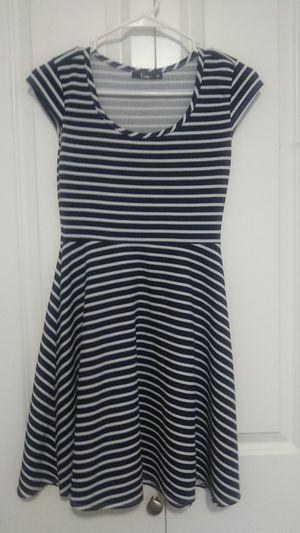 Short Navy&White stripes Dress for Sale in BETHEL, WA