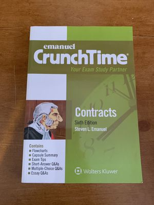 Emanuel Crunchtime For Contracts for Sale in Riverside, CA