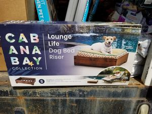 Dog bed lounger riser, new for Sale in Monrovia, MD