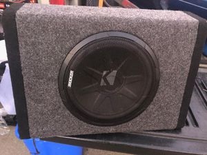 """10"""" KICKER SUB BUILT IN AMP. for Sale in Woodburn, OR"""