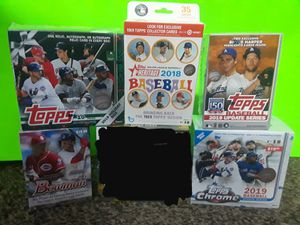 Amazing Baseball Sealed Box LOT for Sale in Madera, CA