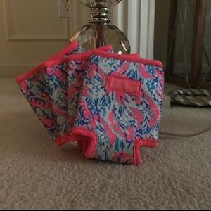 For lobster Lily Pulitzer drinking koozies for cool drinks for Sale in Montgomery, OH