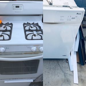 Frigidaire Range & Amana Dishwasher for Sale in Torrance, CA