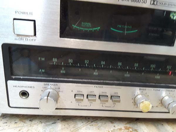 Sony Str 6800 SD AM FM St r6800 stereo vintage Marantz Style tube vintage Audio vintage stereo vintage receiver