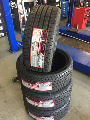 245/35/20 New set of tires installed for Sale in Rancho Cucamonga, CA