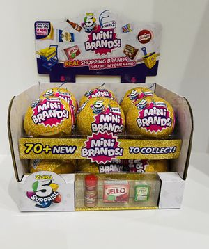 Mini Brands Series 2 - Case of 12 - With Display Case! for Sale in Glendale, AZ