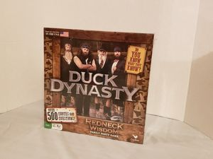 Duck dynasty board game for Sale in North Olmsted, OH