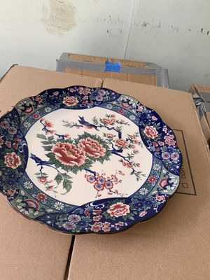 Two Japanese decorative plates for Sale in Rockville, MD