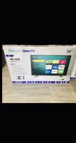 58 INCH HISENSE ROKU 4K SMART TV 📺 for Sale in Chino, CA