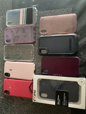 iPhone X cases for Sale in Hutchinson, KS