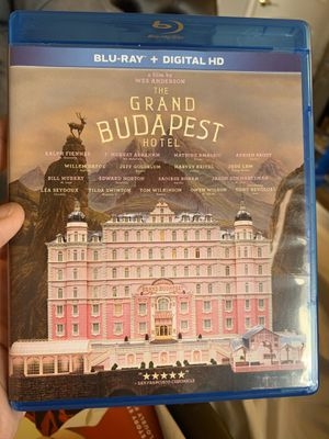 The Grand Budapest Hotel Blu Ray for Sale in San Bernardino, CA