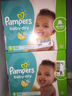 Pampers size 3 only for Sale in Tampa, FL