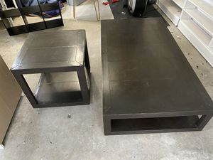 Restoration Hardware Coffee Table & End Table for Sale in Orlando, FL