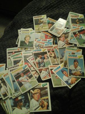 Must pick up old baseball cards 75 in count for Sale in Escalon, CA