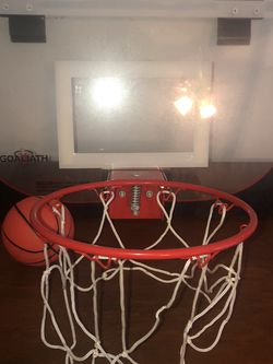 Goliath Door Basketball Net with Ball for Sale in Raleigh,  NC