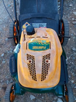 Yard man working very good mower tested before you buy it 80$ for Sale in Rialto, CA