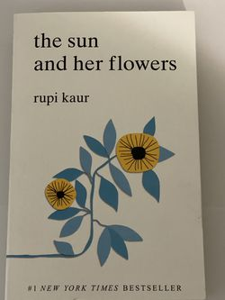 Book: The Sun & Her Flowers By Rupi Kaur for Sale in Houston,  TX