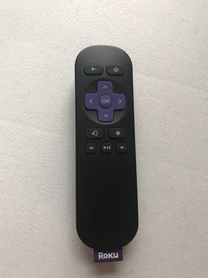 Roku Remote, box, and pamphlet. No stick for Sale in Homestead, PA