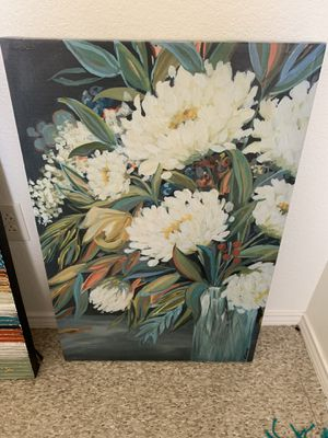 Flower artwork decorative frame for Sale in Odessa, TX