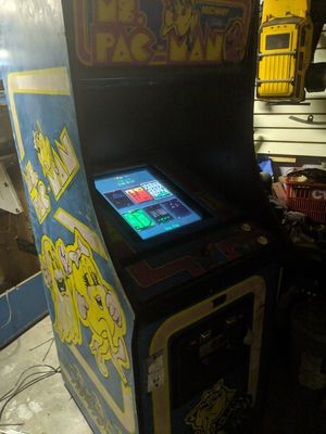 MS PAC Man Arcade Machine plays 60 games for Sale in Pittsburgh, PA