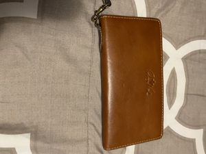 Leather wristlet wallet for Sale in East Providence, RI
