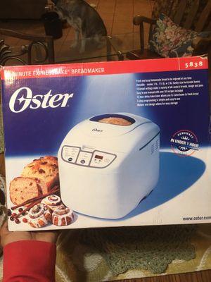 Oster 58 - minute expressbake bread maker for Sale in Houston, TX