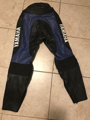 Yamaha leather motorcycle pants for Sale in Chicago, IL