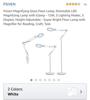 Magnifying glass floor lamp - new in the box for Sale in Eastvale, CA